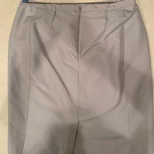 Jones New York Silver Gear Pencil Skirt